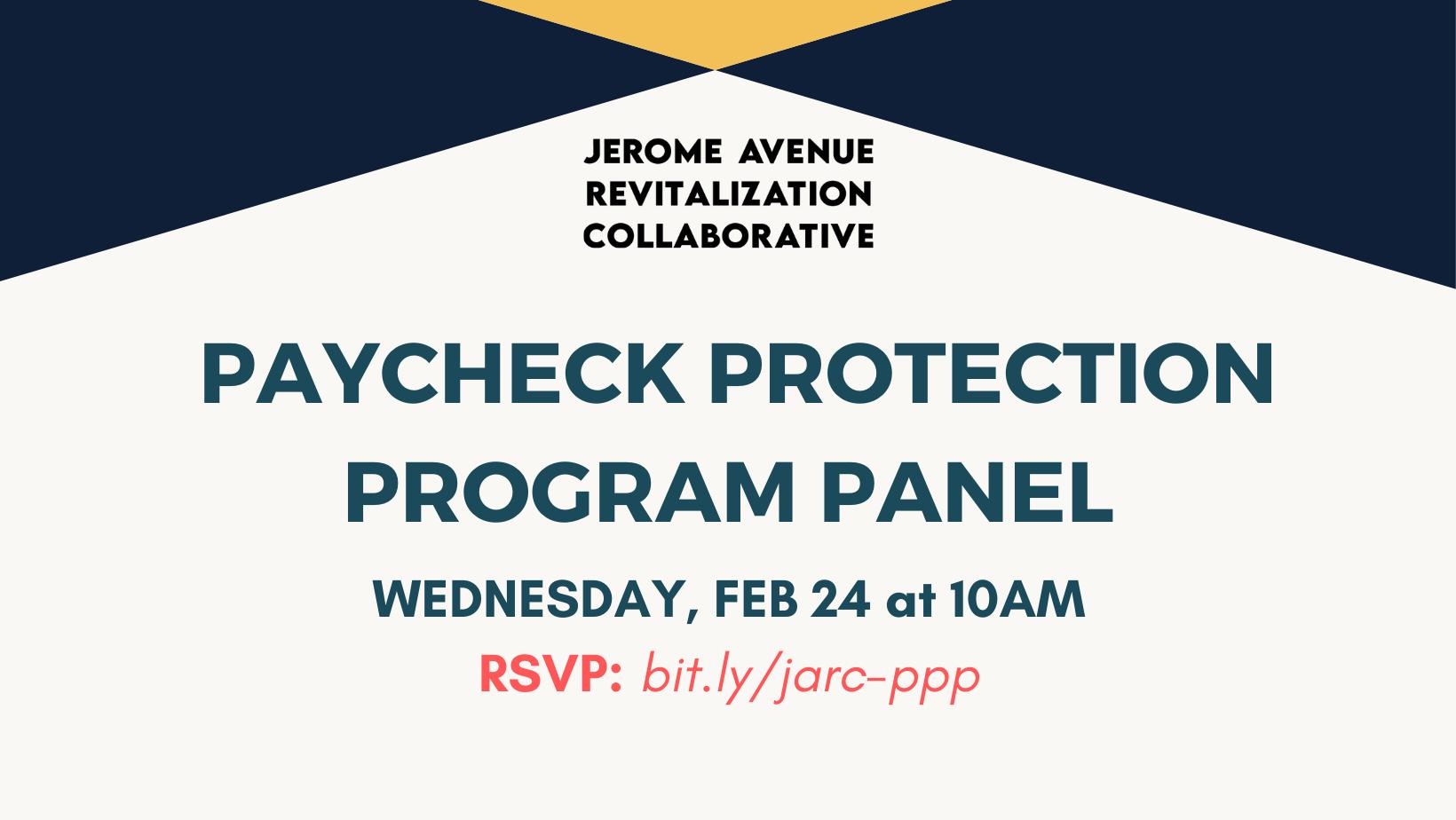 JARC PPP Panel Flyer – Logo Above